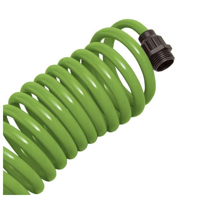 3 x ORBIT-26380 Orbit 25-Foot Green Coil Garden Hose w/ 8 Spray Patterns (3 Pack) 2