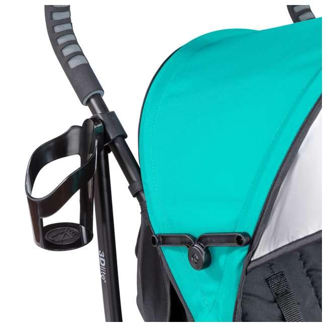 32693 Summer Infant 3Dlite Lightweight Folding Convenience Toddler Baby Stroller, Teal 8