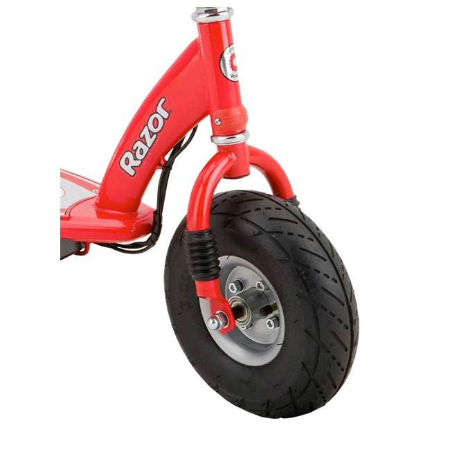 13113697 + 97778 Razor E300 Electric Red Scooter And Razor V17 Youth Helmet 5