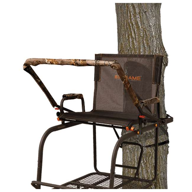 BGM-LS0550 Big Game LS0550 Hunter HD 1.5 Deer Hunting 18.5 Foot 1 Person Ladder Tree Stand 2