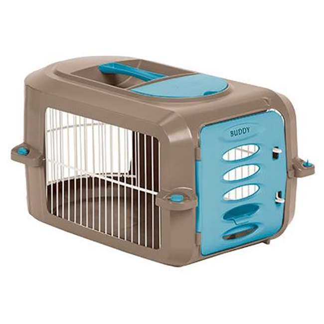 PCR2315A Suncast Deluxe Small Pet Travel Carrier with Food and Water Tray (Open Box)