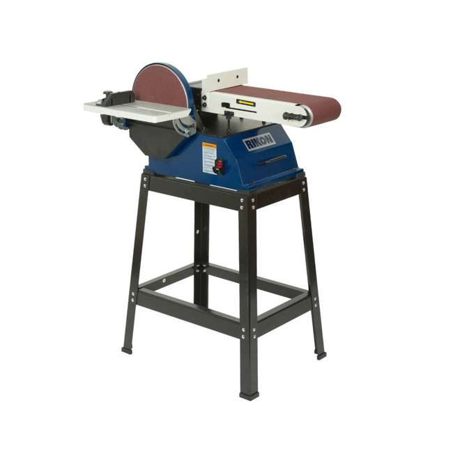 50-122 Rikon 50-122 Adjustable Disc Sander 6 x 48-Inch Belt, 10 Inch Disc with Stand