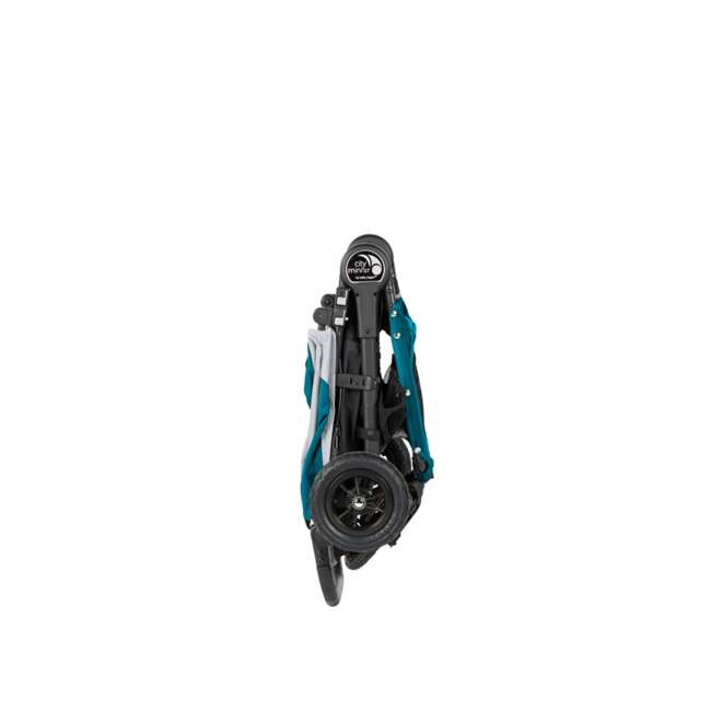 1959401 Baby Jogger City Mini GT Folding Travel Stroller, Teal/Gray 7
