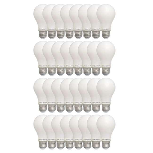4 x SYL-40175-8PK Sylvania 60 Watt Equivalent Soft White Dimmable LED Light Bulb (32 Bulbs)