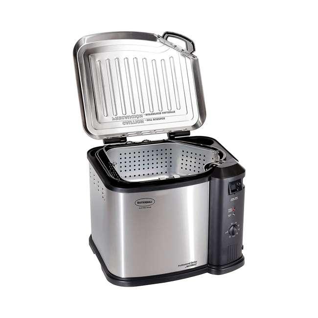 BB-MB23010618-U-B Masterbuilt Butterball 1650W XL Electric 20 lb Turkey Fryer (Used) 2