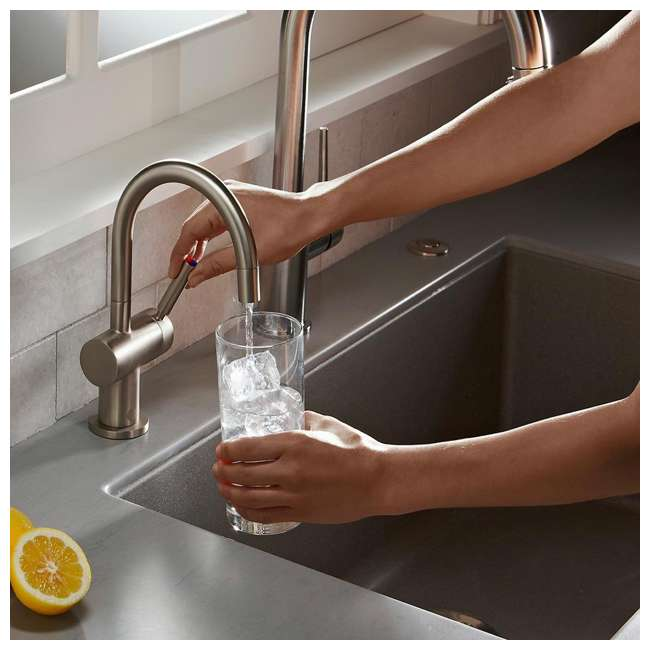 F-HC3300C-OB InSinkErator Indulge Modern Hot/Cold Water Faucet, Chrome (OPEN BOX) 3
