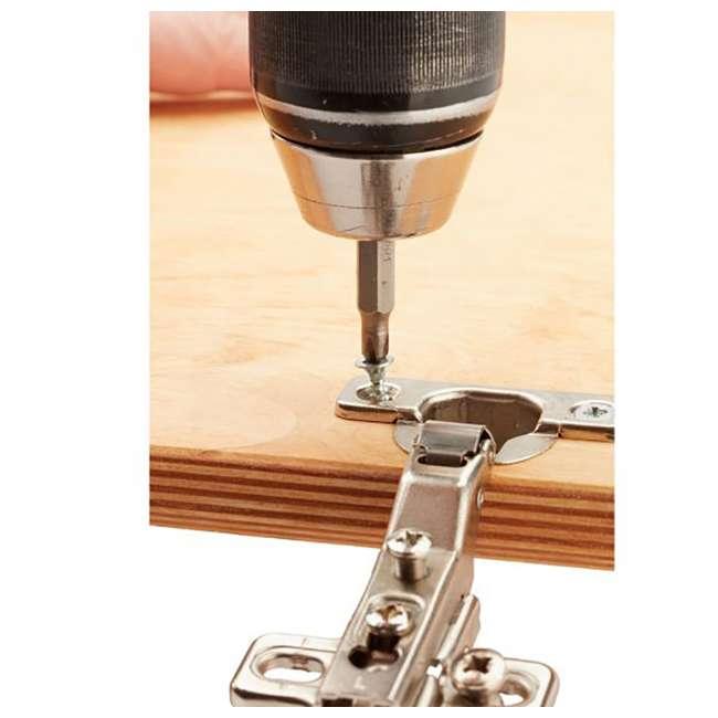 PM-1250-U-B Bora Tool PM-1250 96 Piece Woodworking Drill/Driver Bit Set Black Case (Used) 9