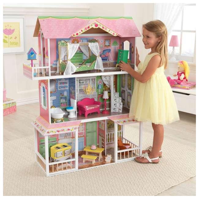 65851 KidKraft Sweet Savannah Dollhouse 2