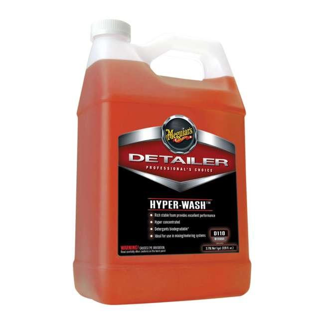 D15501 + D11001 + D14301 Meguiar's Spray Detailer, Hyper-Wash and Tire Cleaner, 1 Gal 2