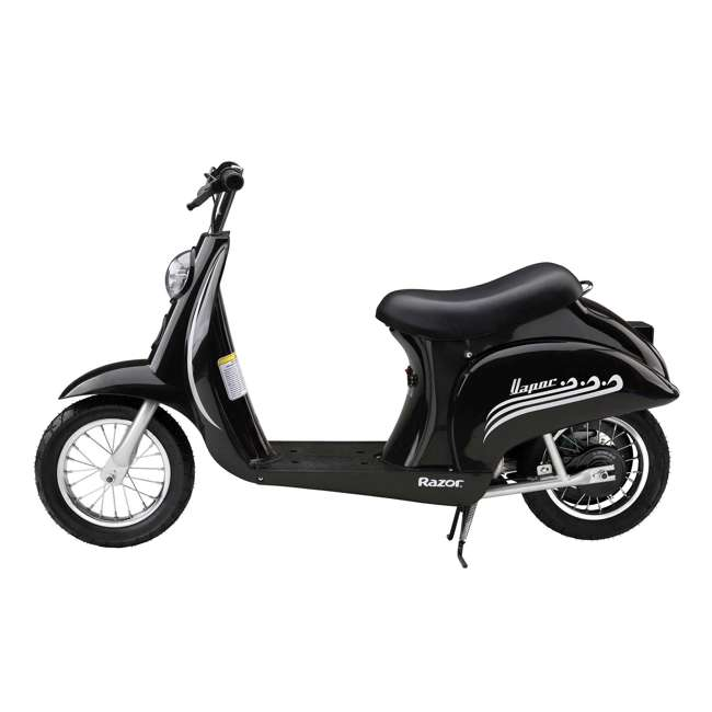 15130601 Razor Pocket Mod Electric Retro Scooter, Black 1