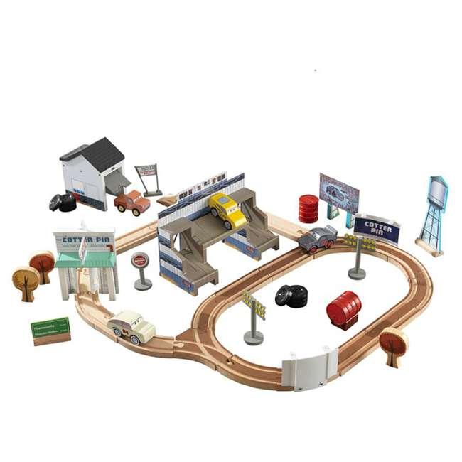 KDK-18015-U-A Kidkraft Disney Pixar Cars 3 50 Piece Thomasville Speedway Track Set (Open Box)