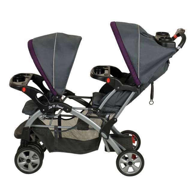 SS76715 Baby Trend Sit N Stand Double Stroller, Elixer 3