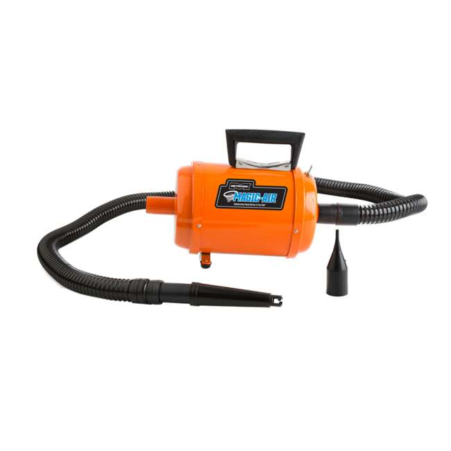 DIDA-1 MetroVac MagicAir Deluxe Inflator and Deflator, Orange