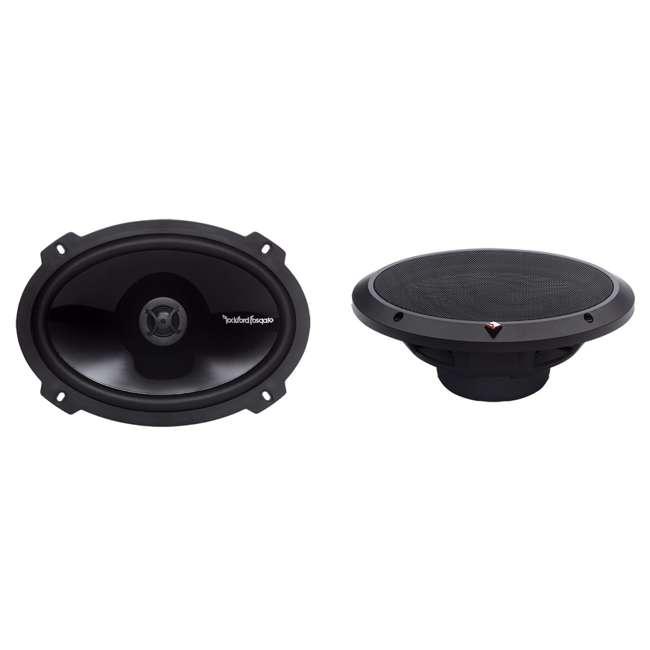 P1692 + TW6X9 2) Rockford Fosgate P1692 6x9-Inch 150W Speakers + 2) Angled 6x9-Inch Speaker Box (Package) 1