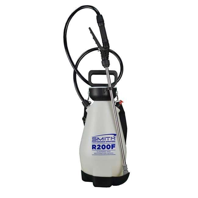 TFG-190456 Smith Performance Sprayer 2 Gallon Cleaning Compression Sprayer with 4 Nozzles