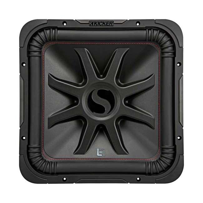 45L7R124 Kicker L7R 12-Inch 1200-Watt Max 4-Ohm DVC Square Subwoofer