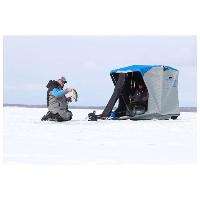 CLAM-14279 Clam 14279 Removable Floor for Nanook XL/Yukon XL Fish Trap Ice Fishing Tents 2