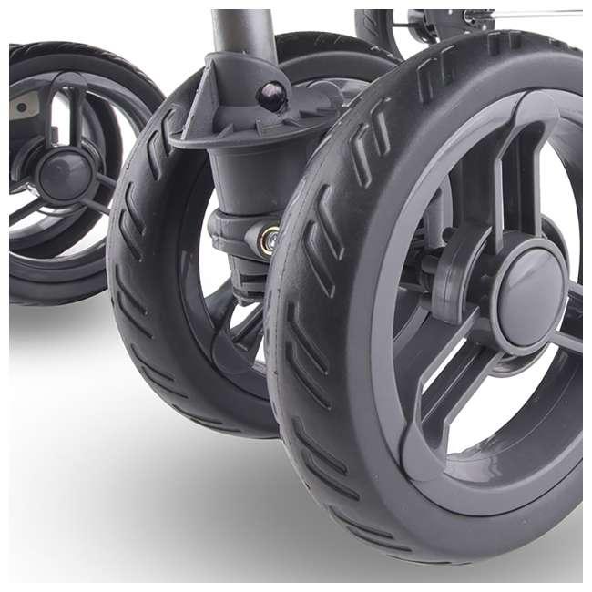 JVY-8077 Joovy ScooterX2 Side-by-Side Double Jogging Stroller, Black 4