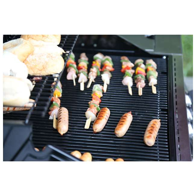 MG-35633 Monument Grills Clearview Lid 4 Burner w/Side Sear Burner Propane Grill (2 Pack) 6