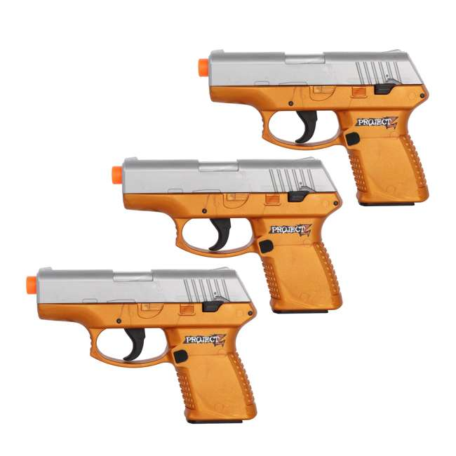 Palco Project Z Inhuman 180 FPS Mini Airsoft BB Pistol (3 Pack)