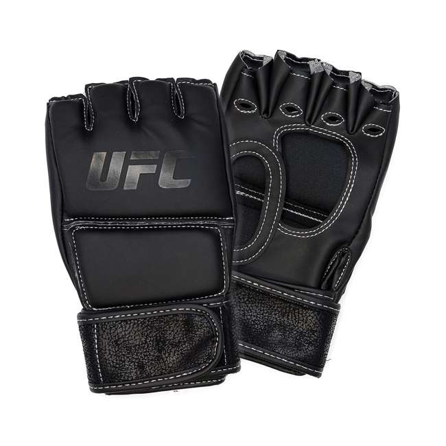 14430P010250-MMASM Century Martial Arts UFC Open Palm S/M Gloves, Black (2 Pairs) 1