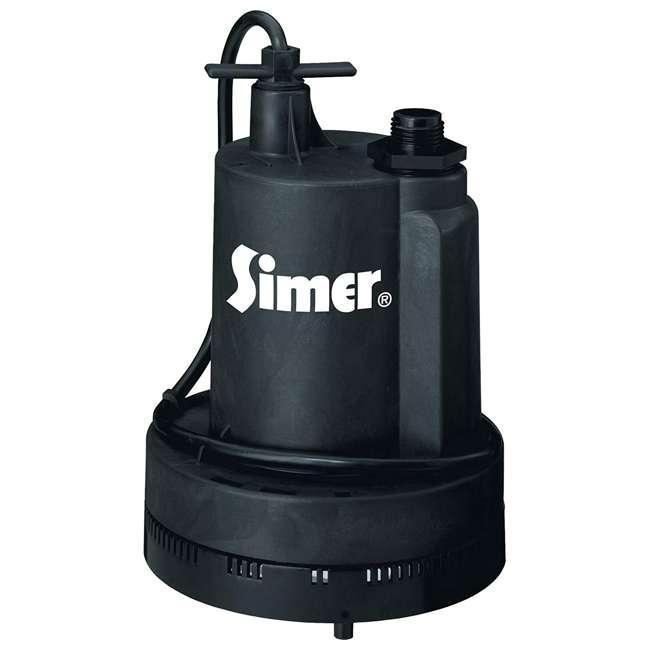2305-04 Simer 2305-04 Geyser II 1/4 HP Submersible Utility Pump