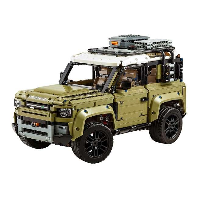 6283904 LEGO Technic 42110 Land Rover Defender 2573 Piece Block Building Kit Olive Green