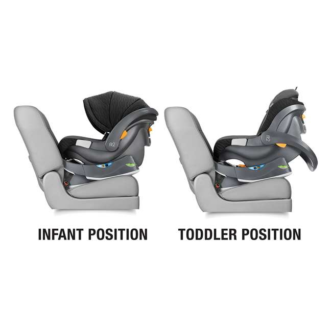 CHI-0707977158 Chicco Fit2 Infant and Toddler Rear-Facing Car Seat, Tempo 1