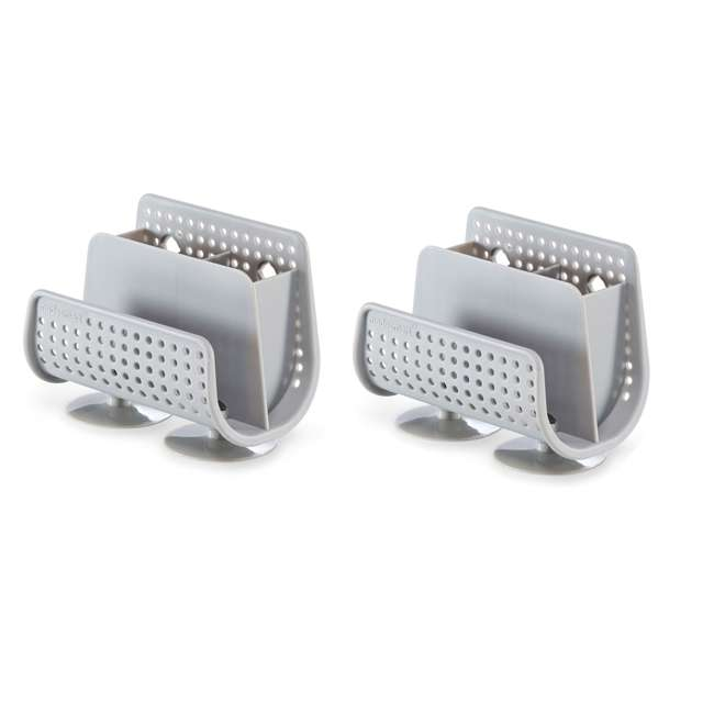 18121-MSM MadeSmart Suction Cup Sink Caddy (2 Pack)