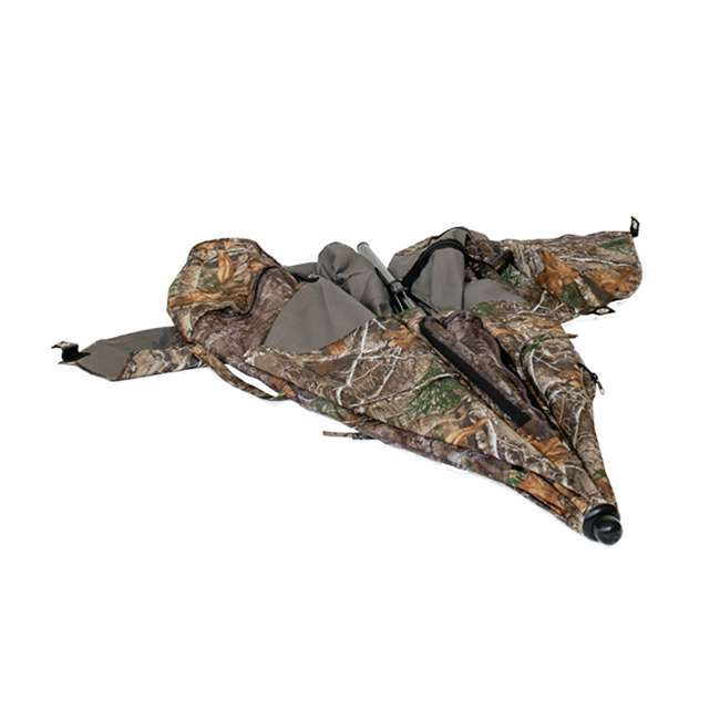 BT2119 Cooper Hunting Big Tom 2 Man Turkey Hunting Ground Blind, RealTree EDGE Camo 4