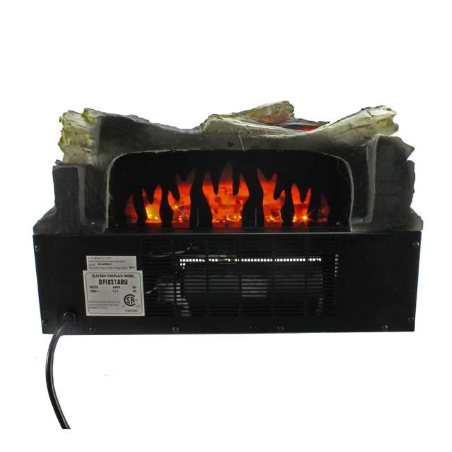 Duraflame Electric Fireplace Led Log Insert W 1350w Heater Dfi021aru Dfi021aru Bronze Ob