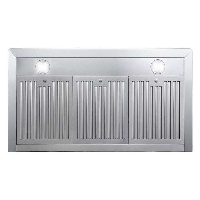 COS-63190 Cosmo COS-63190 36 Inch Wall Mount Range Hood with Push Control, Stainless Steel 2