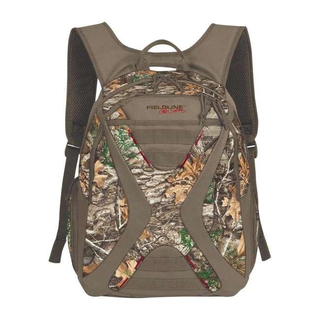 QCB155FLP-RTED Fieldline Black Canyon 2 Pocket Camouflage Adjustable Hunting Backpack, Brown