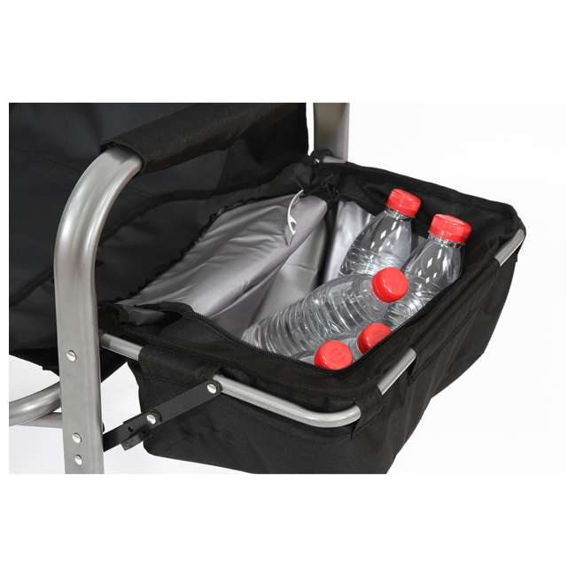 CC119 Kamp-Rite Director's Chair with Table, Cooler, and Bottle Opener 4