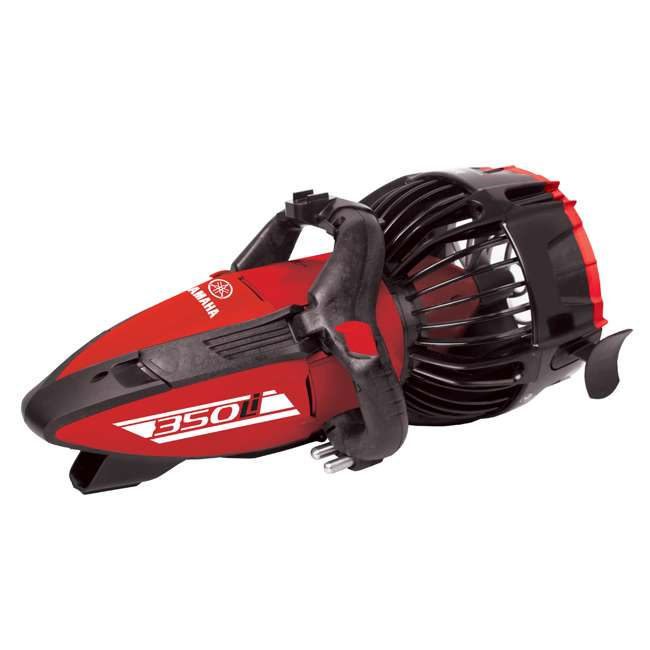 YME22350 Yamaha 350Li Lithium Ion Battery 3 Speed Saltwater Scuba Diving Sea Scooter, Red