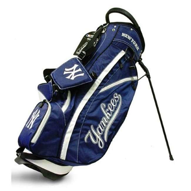 96828 Team Golf 96828 MLB New York Yankees Fairway Golf Stand Storage Bag, Blue