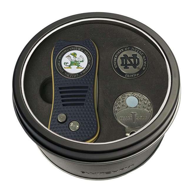 22757 Notre Dame Fighting Irish Ball Marker Golf Gift Set