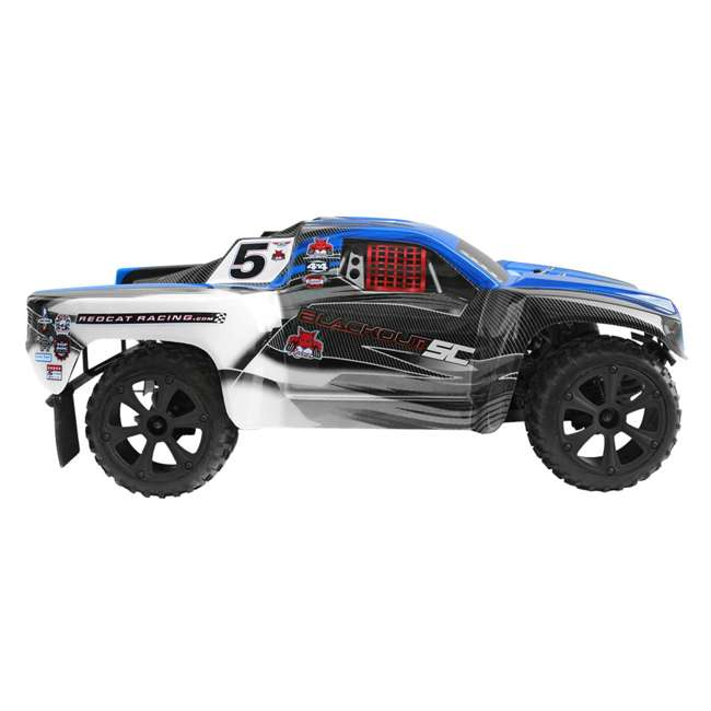 BLACKOUT-SC-BLUE Redcat Blackout SC Brushed Electric RC Short Course Truck 2