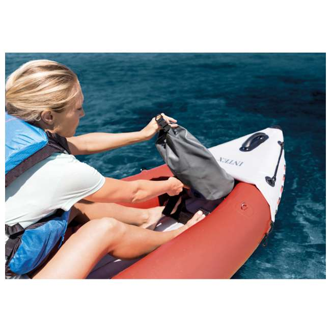 68309EP Intex Excursion Pro Inflatable 2-Person Kayak with Pump, Red 4