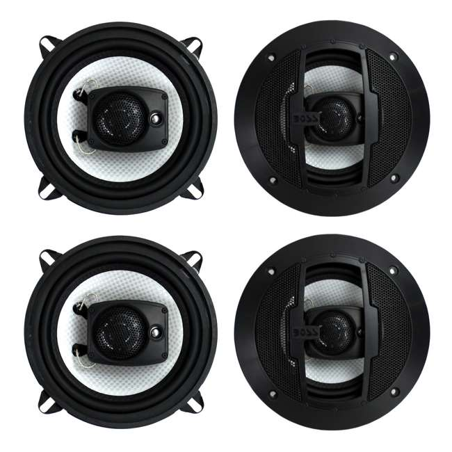 R53 Boss R53 5.25-Inch 200W 2 Way Coaxial Speakers (2 Pairs)