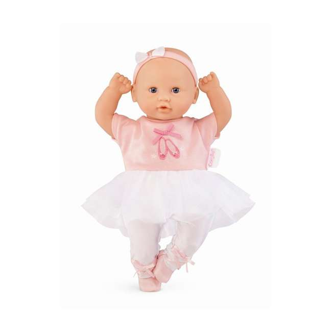 CJJ27 Corolle Mon Premier Bebe Calin Ballerina 12 Inch Vanilla Scented Baby Doll Toy