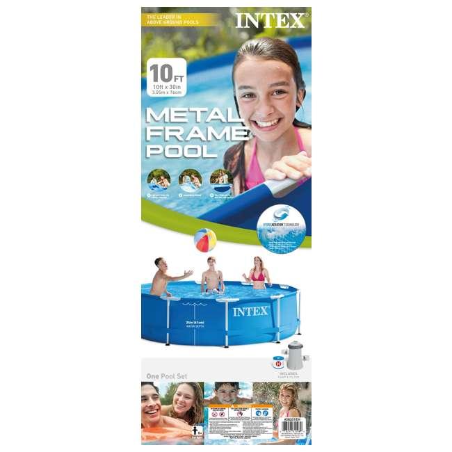 how to build intex 8 foot pool filter pump
