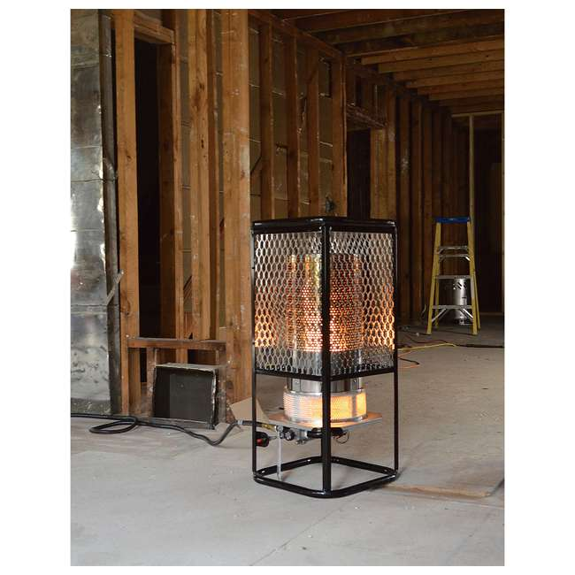 MH-F270800 Mr. Heater 125,000 BTU Portable Radiant Propane Gas Heater w/ Hose Regulator 2