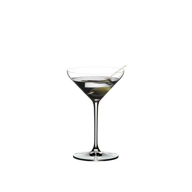 4441/17 Riedel Extreme Dishwasher Safe Crystal Cocktail Martini Glass, 8.8 Oz (2 Pack) 1