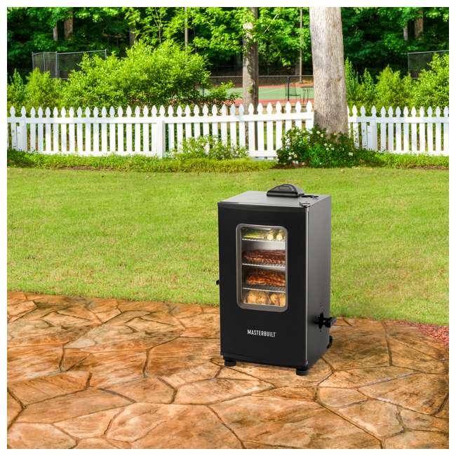 MB20072318 Masterbuilt Digital Electric Stainless Steel BBQ Smoker Grill, Black 1
