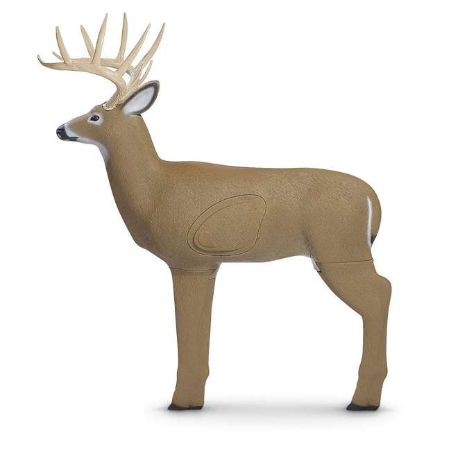 G71610 Field Logic Big Shooter 3D Whitetail Buck Archery Target with Replaceable Core