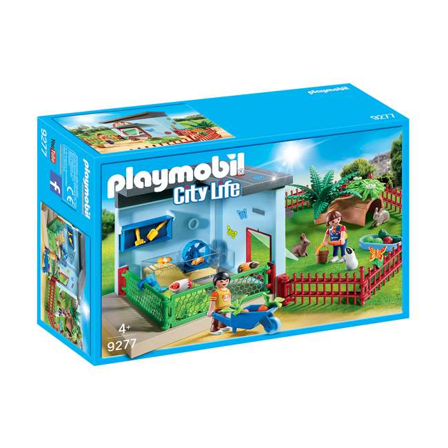 PLAY-9277 Playmobil Small Animal Boarding Building Kids Educational Toy Set & Figurines 5