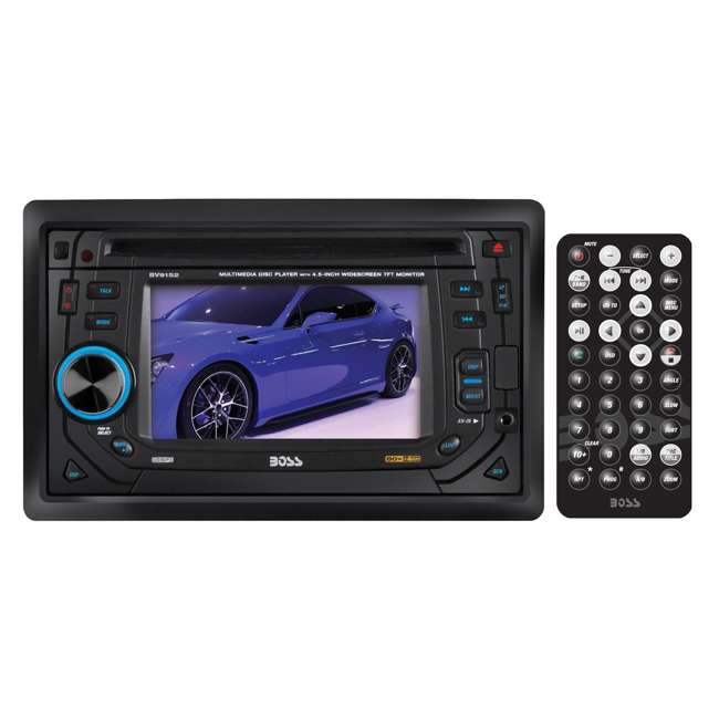 BV9152 Boss BV9152 4.5-Inch TouchScreen DVD/MP3 Player Usb/sd Aux