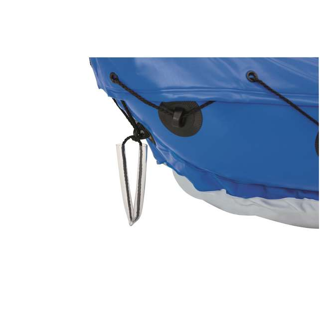 "65077E-BW-U-A Bestway 126 x 35"" Lite-Rapid X2 Inflatable Kayak w/ Oars (Open Box) (2 Pack) 5"