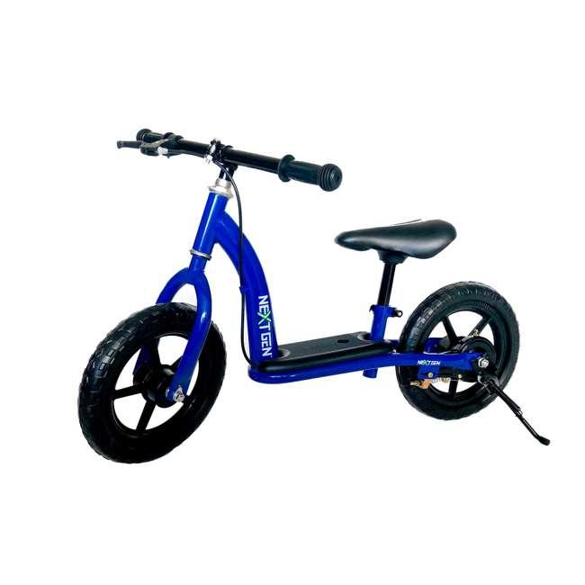 12BALBK-BLU NextGen Children's Training Balance Bike with 12 Inch Tires, Blue